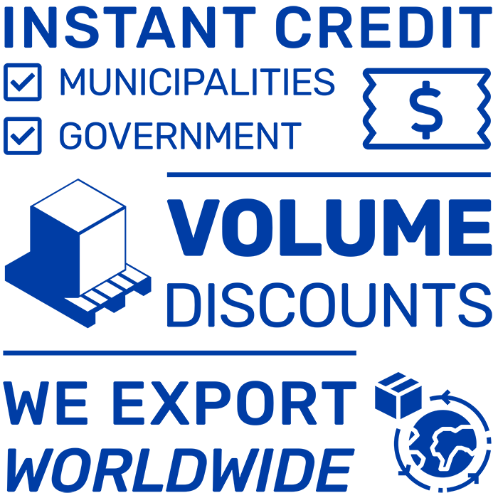 Instant Credit For Government Bodies and Bulk Pricing Available