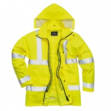High Visibility 4 in 1 Safety Jacket Year Round Class 3