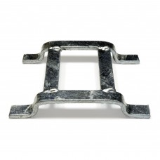 Double Flat Turn-A-Link Galvanized Mat Connector