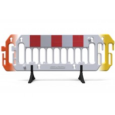 Reflective Construction Barricade - ExtraVision