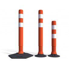 Flexible Traffic Delineators Post & Base - Flexi-Cylinder