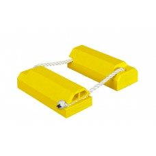 AC4614 Aviation Wheel Chock Set - Mid to Large Aircraft - Monster®