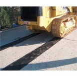 Dozer Mat - Rubber Protection From Steel Track Damage