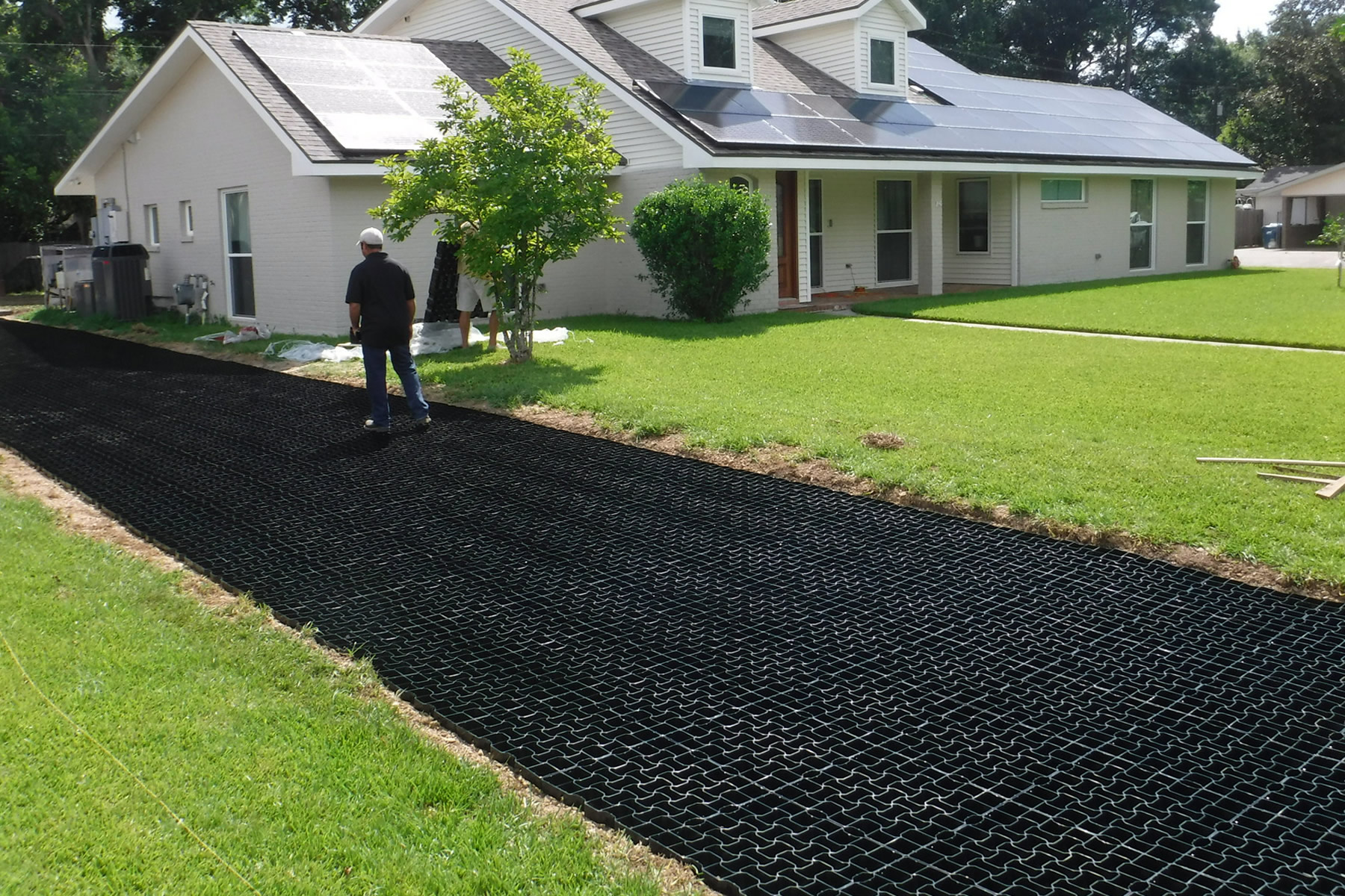StartPave G50 Grass & Gravel Pavers - Permeable Paving Grid