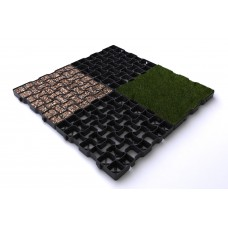 Grass & Gravel Pavers - Porous Grids - Box of 12 StartPave