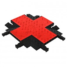 5 Channel Guard Dog® 90° 4-Way Cross Cable Ramp