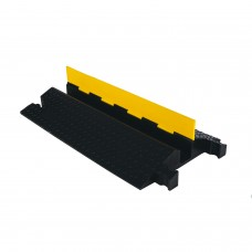 """1 Channel Heavy Duty 3"""" Yellow Jacket® Cable Protector"""