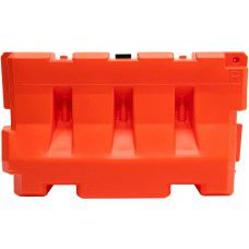 42″ Jersey Shape LCD Water Filled Barricade TL-3 Rated