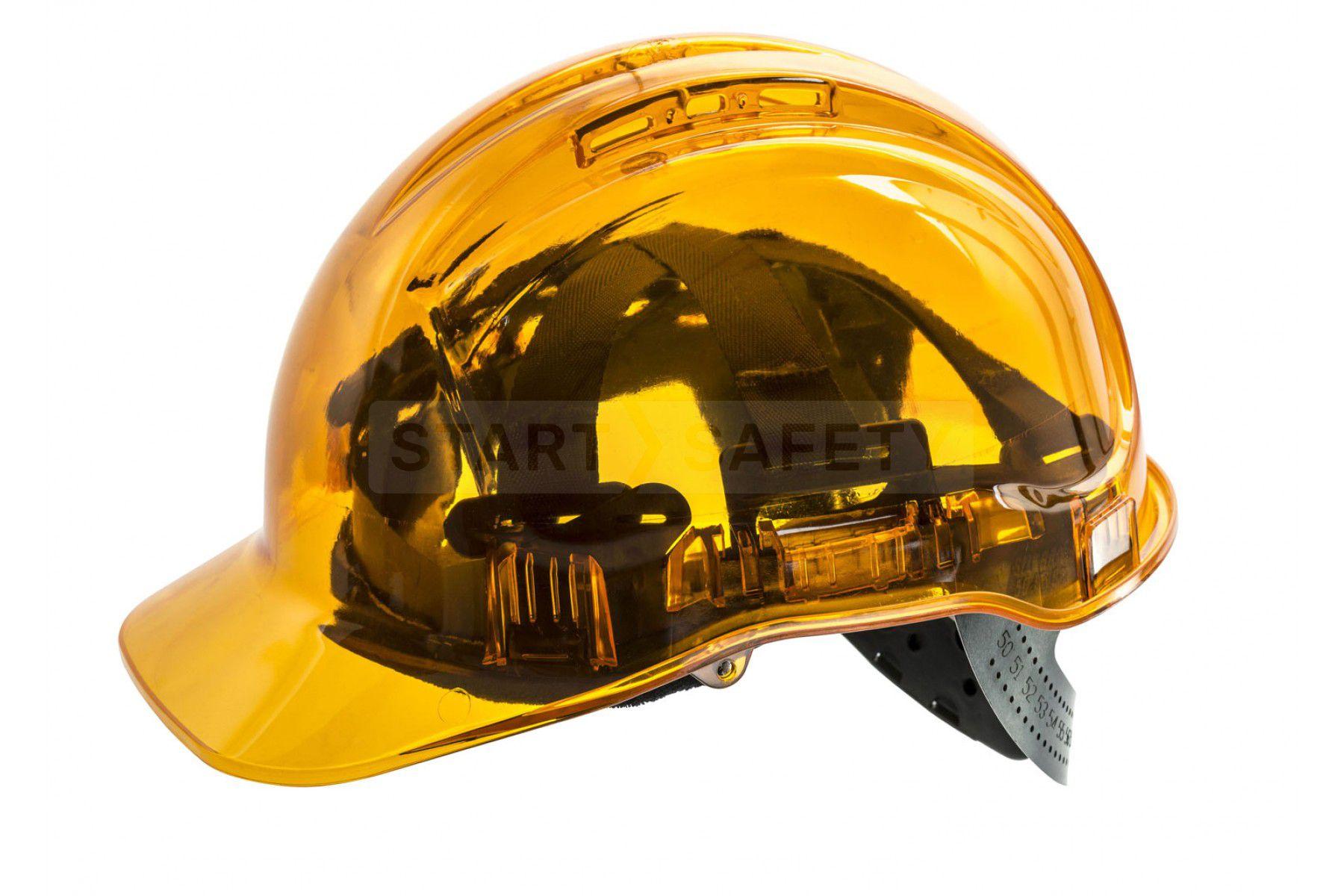 Peak View Translucent Hard Hat Adjustable Size