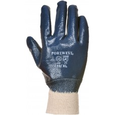 Nitrile Knitwrist Gloves