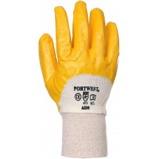 Nitrile Light Knitwrist Gloves