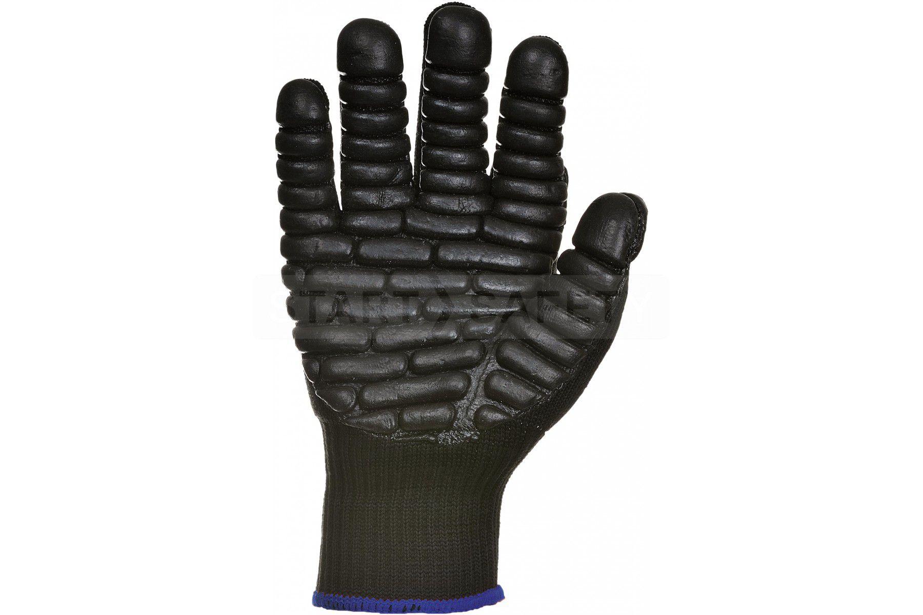 Black hammer gloves - Anti Vibration Gloves