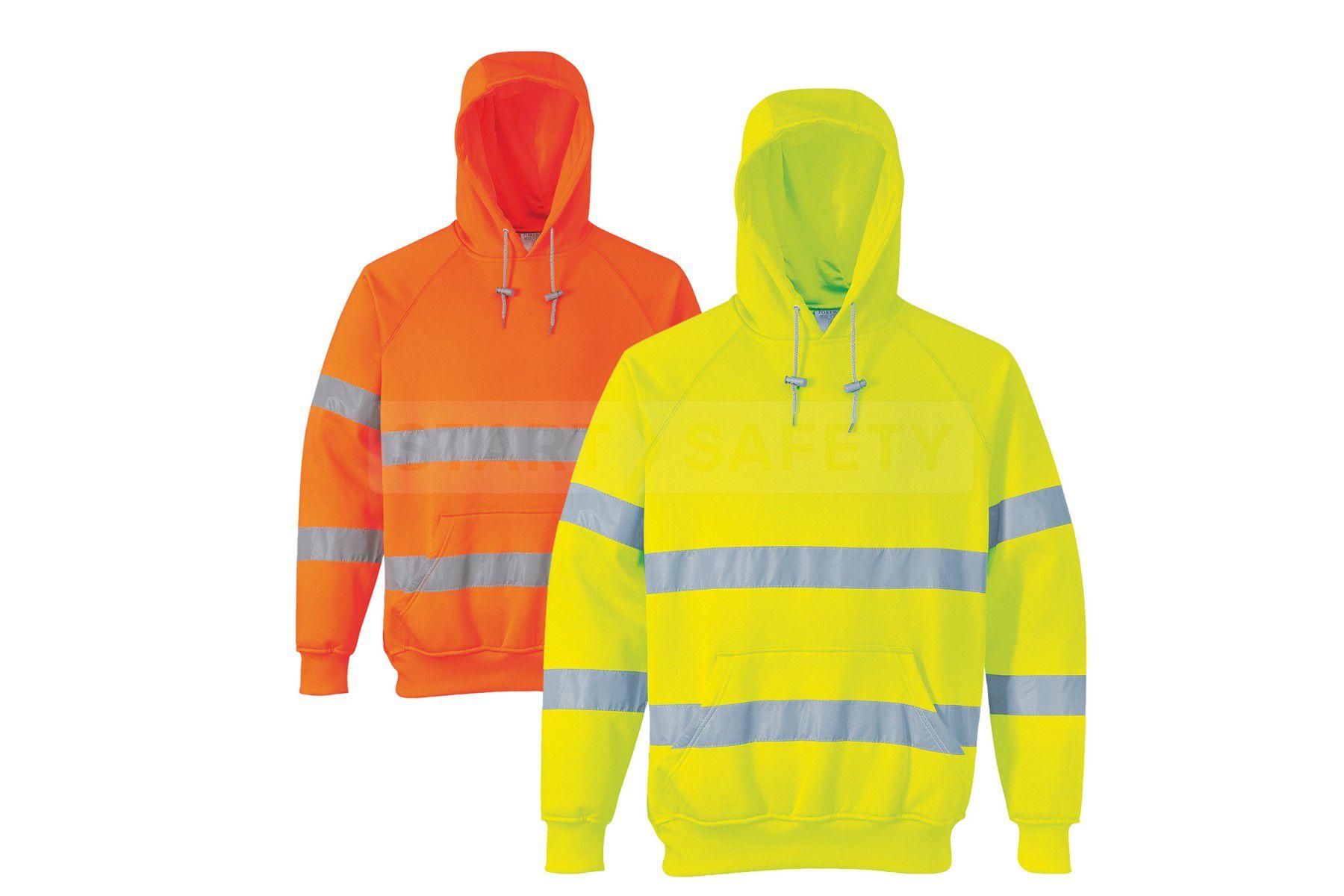 High vis hoodie