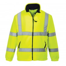 Hi-Viz Fleece Wind Resistant & Warm