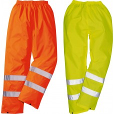Hi-Vis Value Rain Pants ANSI Orange or Yellow