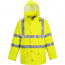 Waterproof, Windproof & Breathable Hi-Vis Jacket - Sealtex