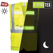 Glow in the Dark Hi-Vis Vest - Glowtex