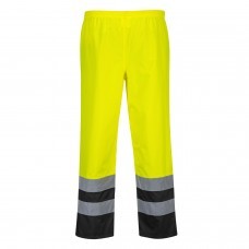 Two Tone Traffic Pants Hi-Vis With Contrast