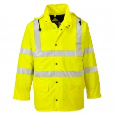 Waterproof, Windproof & Breathable Hi-Vis Lined  Jacket - Sealtex