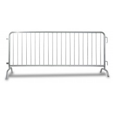 Premium Metal Crowd Barrier 6.5 or 8 Feet