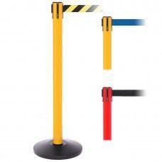 """SafetyMaster 450 8.5' or 11' x 2"""" or 3"""" Belt Barrier System"""