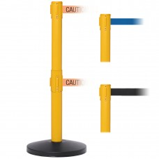 "SafetyMaster 450 Twin 11' x 2"" or 3"" Belt Barrier System"