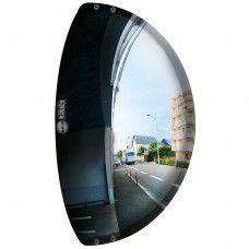 Vialux Unbreakable Driveway 180-degree 3-Directional Mirror