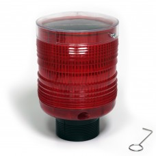 Yodock Aerocade Red Warning Light - Solar