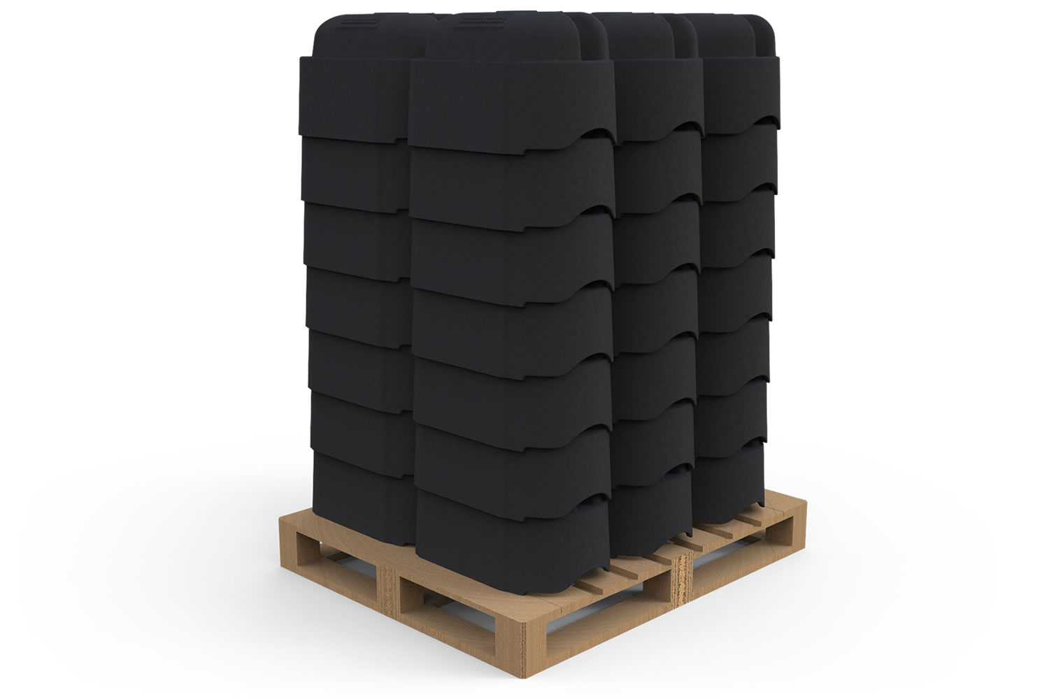 Low Profile Barriers Stacked