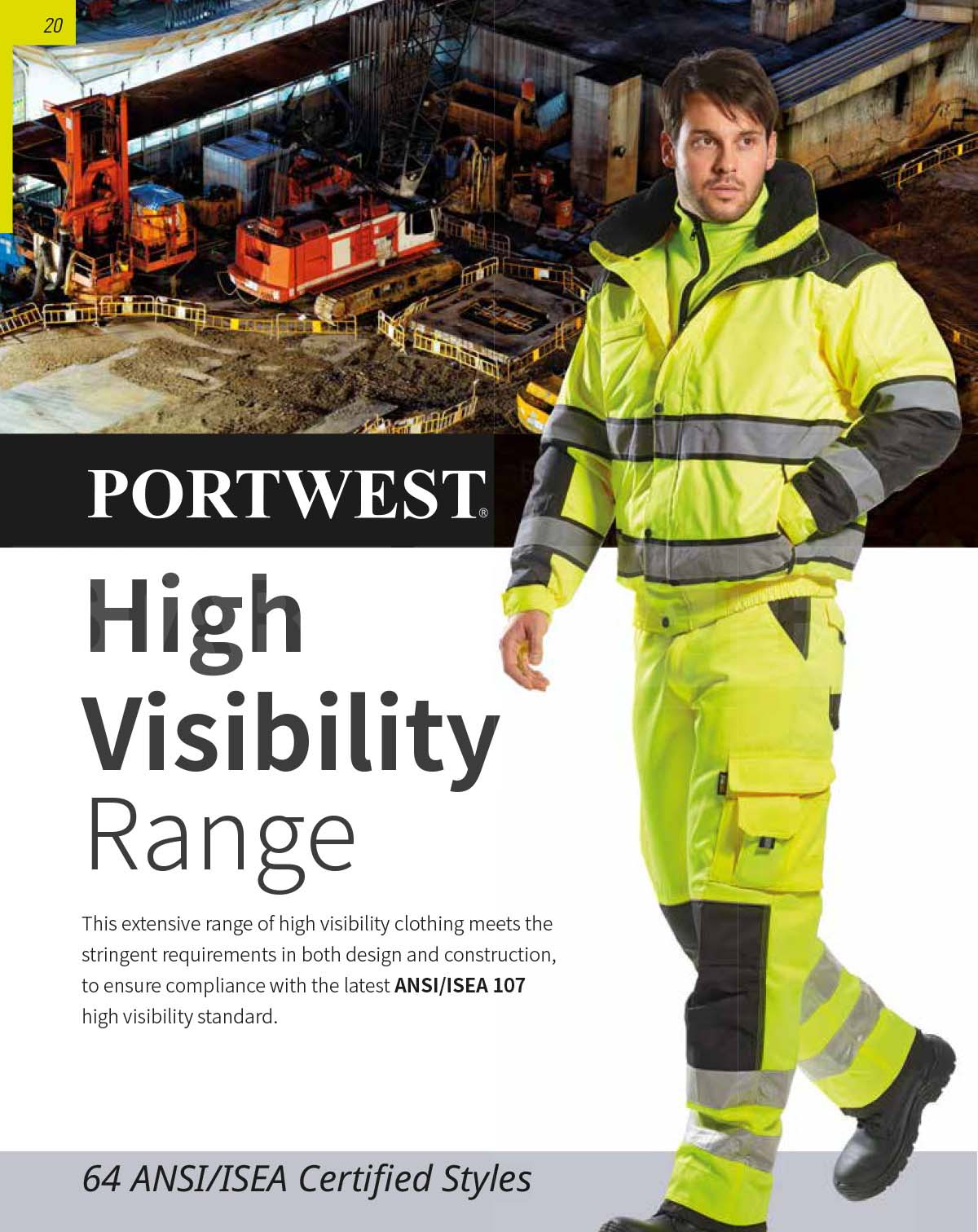 High Visibility Range Of Work Clothes