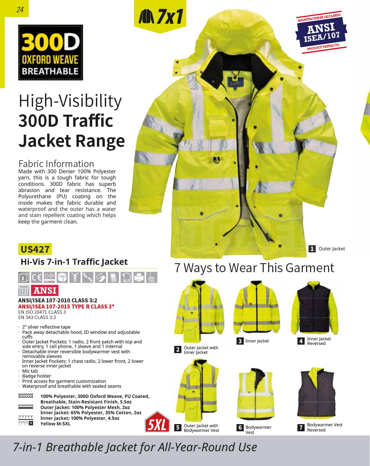 US427 High Vis Jacket