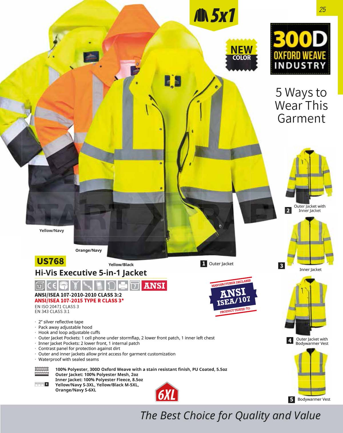 US768 High Vis Jacket
