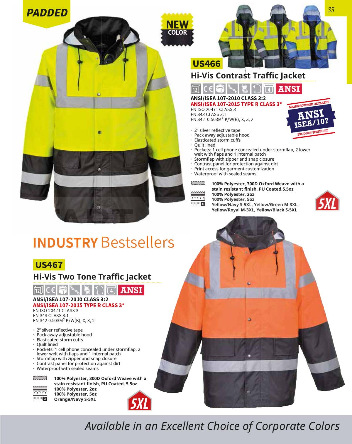 US467 High Vis Jacket