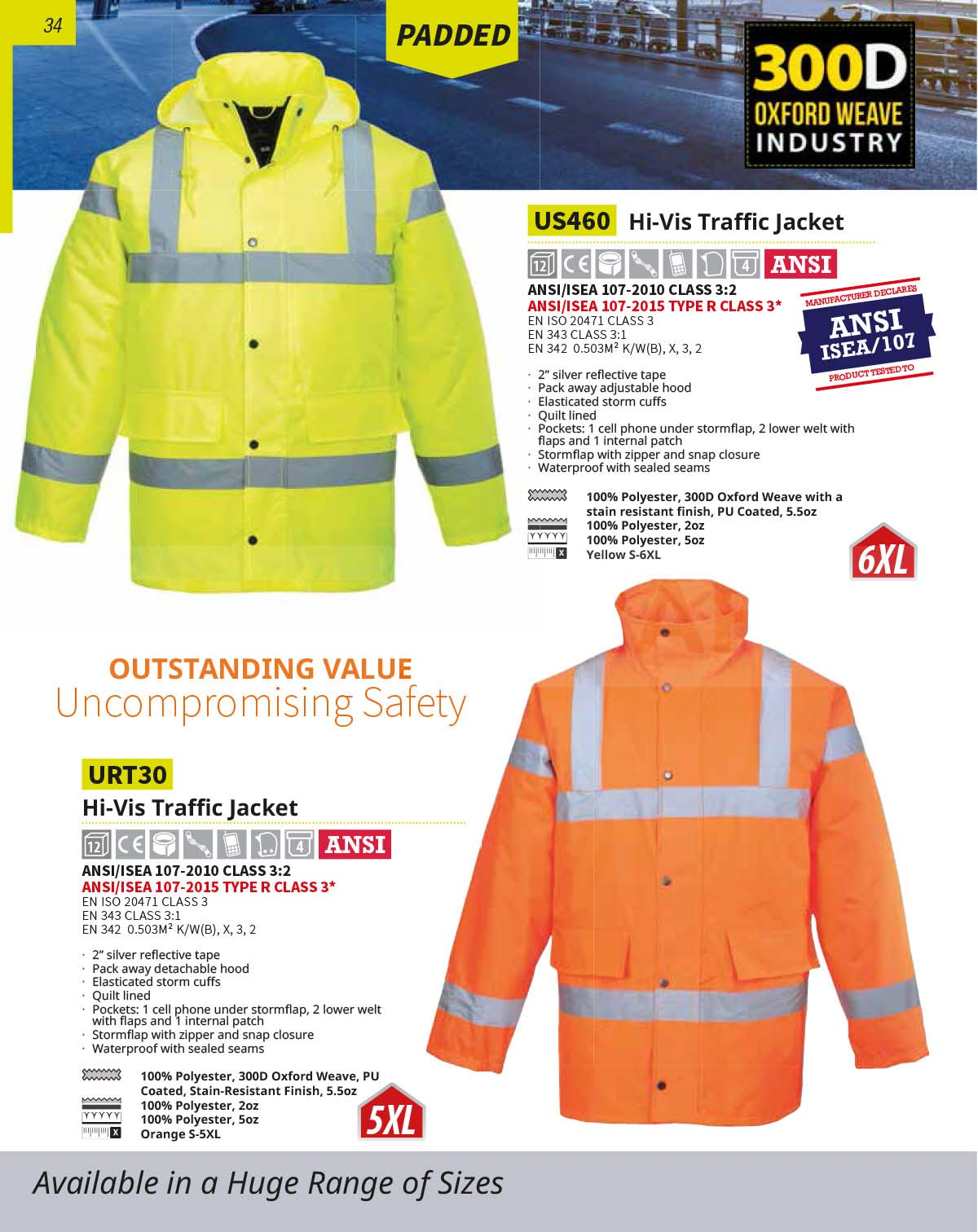 US460 High Vis Jacket