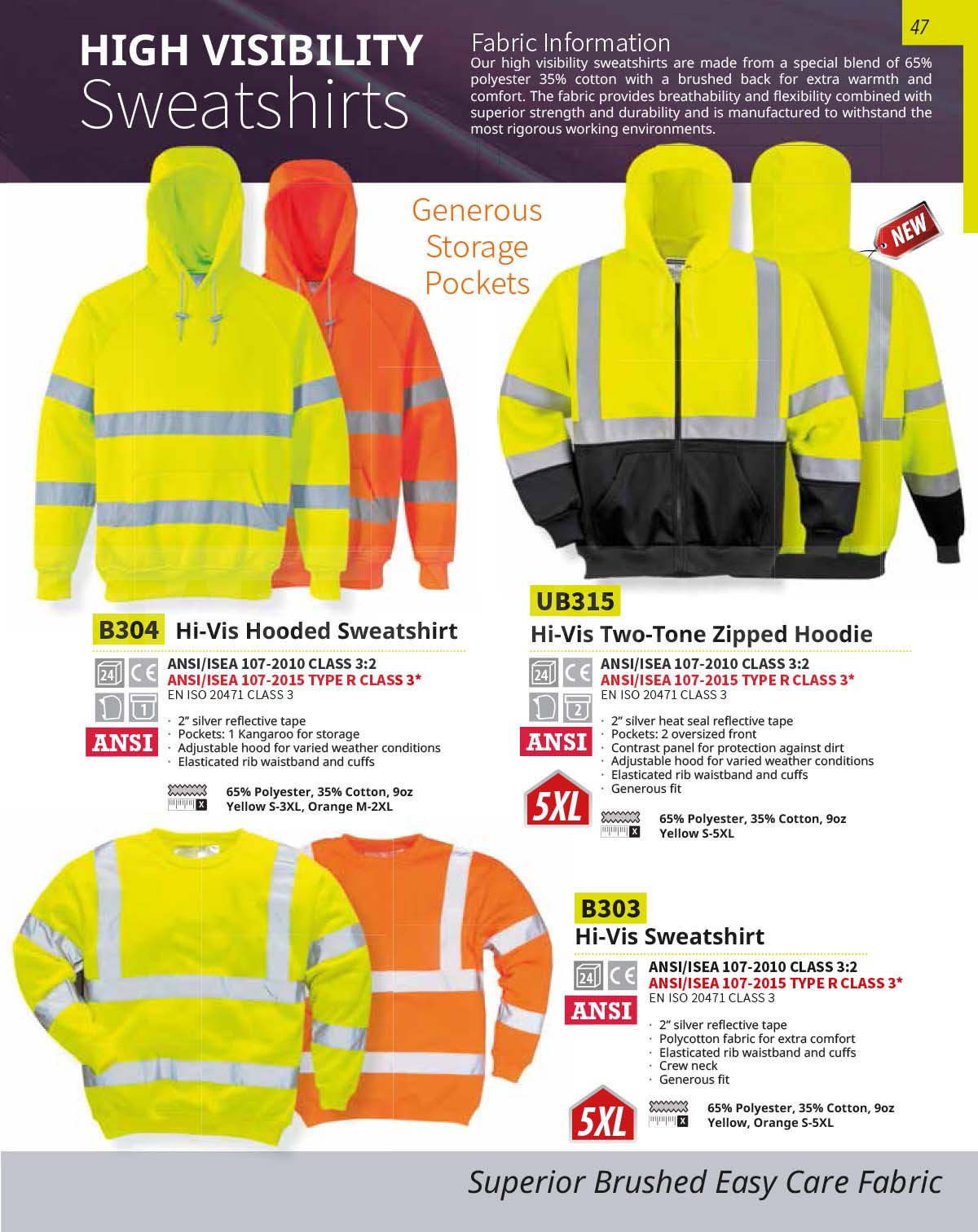 B303 High Viz Sweater