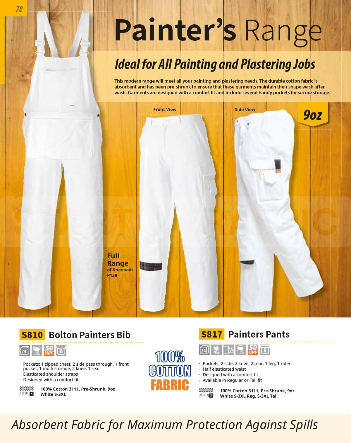 View The Bolton Painters Bib In the Catalogue