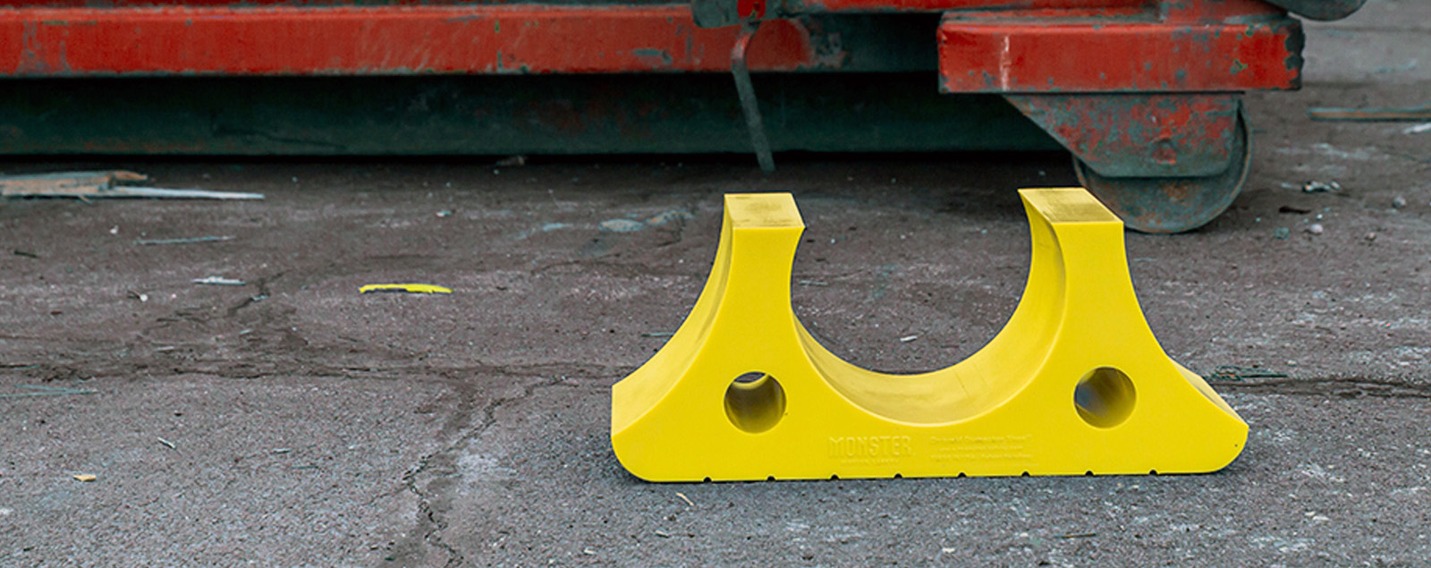 Ground Protector for Dumpsters