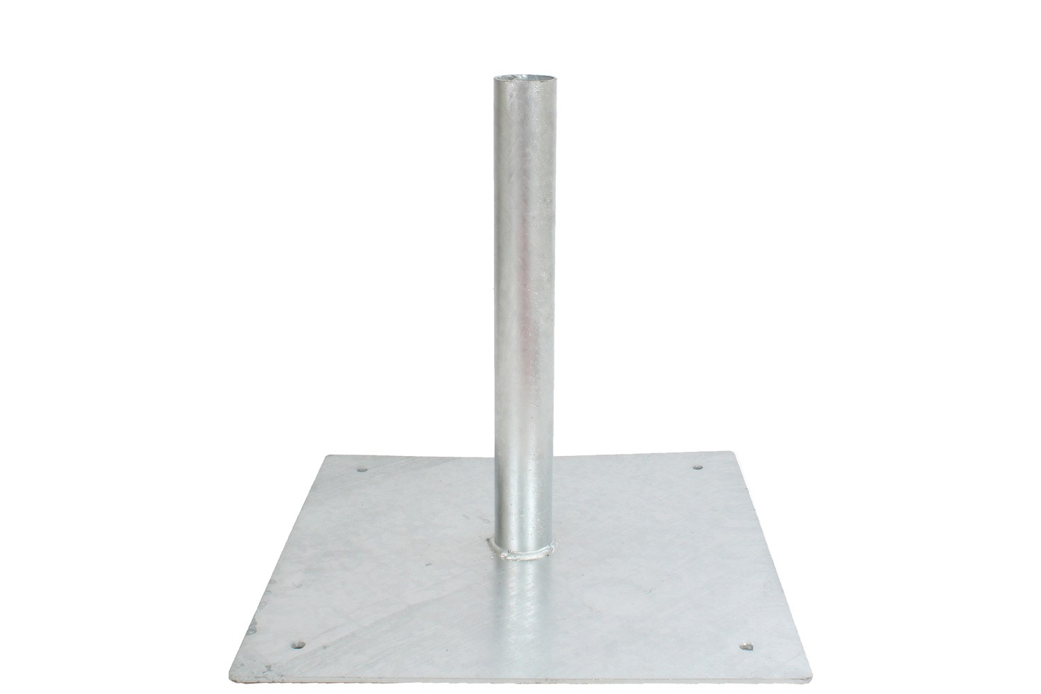 Fixed Galvanized Steel Base for Sentinel Goalposts