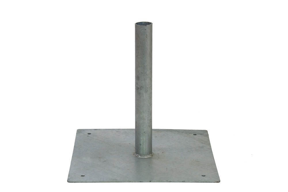 Bunting and Steel Base