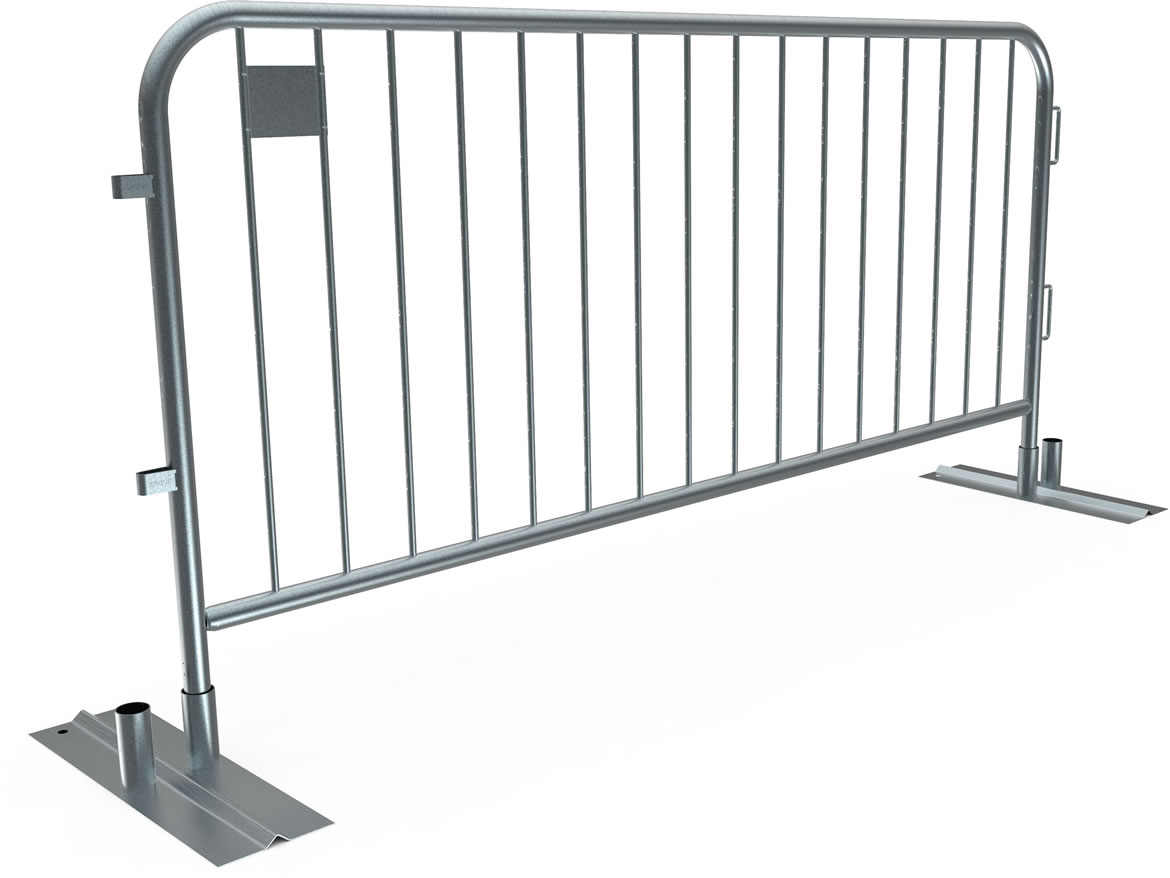 SmartWeld Metal Crowd Control Barrier